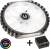 Ventoinha + Controlador BitFenix Spectre Pro RGB 230mm