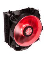 Cooler CPU Raijintek Leto Heatpipe LED Vermelho