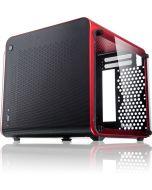 Caixa Mini-ITX Raijintek Metis Evo Vermelha Vidro Temperado