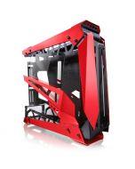 Caixa Big-Tower Raijintek NYX PRO Showcase Vidro Temperado - Vermelha