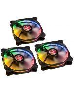 Ventoinha Raijintek Auras 12 LED RGB (Pack 3) 120mm