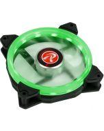Ventoinha Raijintek IRIS 12 PWM LED Verde 120mm