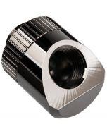 Conector Rotativo EKWB Torque G1/4 45º Macho / Femea Niquel Preto