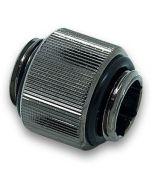 EK-AF Extender 12mm M-M G1/4 - Black Niquel