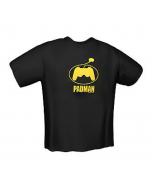 T-Shirt GamersWear PADMAN Preta (M)