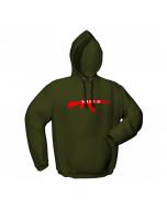 Hoodie GamersWear STUDIO 47 Verde (M)
