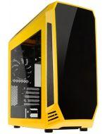 Caixa Micro-ATX BitFenix Aegis Core Amarelo / Preto