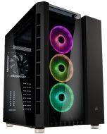 Caixa ATX Corsair Crystal 680X RGB Preto Vidro Temperado