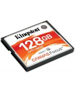 Cartão Kingston Canvas Focus CompactFlash UDMA7 VPG-65 128GB