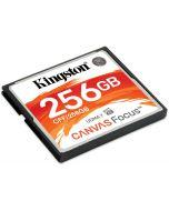 Cartão Kingston Canvas Focus CompactFlash UDMA7 VPG-65 256GB