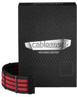 Kit de Cabos Sleeved CableMod PRO C-Series AXi, HXi e RM - Preto/Vermelho