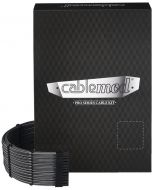 Kit de Cabos Sleeved CableMod PRO ModMesh C-Series RMi & RMx - Carbono