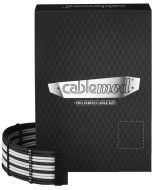 Kit de Cabos Sleeved CableMod RT-Series Asus ROG e Seasonic - Preto/Branco