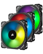 Ventoinha Corsair ML120 Pro RGB Magnetic PWM 120mm (Pack 3)