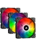Ventoinha Corsair iCUE SP120 RGB Pro Performance (Pack 3)