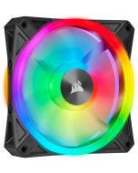 Ventoinha Corsair iCUE QL120 RGB PWM Preto 120mm