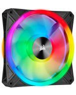 Ventoinha Corsair iCUE QL140 RGB PWM Preto 140mm