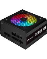 Fonte Corsair CX-550F RGB Preto