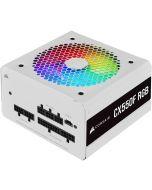Fonte Corsair CX-550F RGB Branco