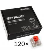 Pack 120 Switches Kailh Box Red para Glorious PC Gaming Race GMMK
