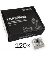 Pack 120 Switches Kailh Speed Silver para Glorious PC Gaming Race GMMK