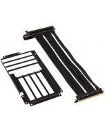 Kit Card Riser Lian Li PCI-E x16 Gen.3 Preto 30cm + Cover PCI Slot