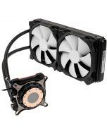 Cooler CPU a Água Phanteks Glacier One 280MP D-RGB Preto - 280mm