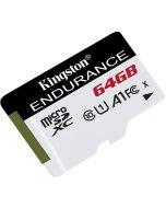 Cartão Kingston Endurance MicroSDHC UHS-I A1 C10 64GB