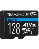 Cartão Team Group Elite MicroSDXC A1 UHS-I U3 V30 128GB