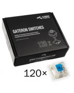 Pack 120 Switches Gateron MX Blue para Glorious PC Gaming Race GMMK