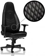 Cadeira noblechairs ICON Real Leather Preto
