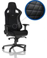 Cadeira noblechairs EPIC PU Leather Preto / Azul
