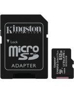 Cartão Kingston Canvas Select Plus MicroSDHC UHS-I A1 512GB