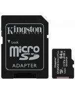 Cartão Kingston Canvas Select Plus MicroSDHC UHS-I A1 64GB
