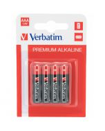 Pilhas Verbatim Alkaline AAA LR03 (4un)