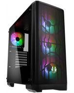 Caixa ATX BitFenix Nova Mesh A-RGB Preta Vidro Temperado