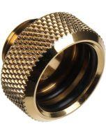 Conector Bitspower G1/4 16mm - Dourado