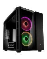 Caixa ATX Corsair Crystal 280X RGB Preto Vidro Temperado
