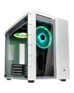Caixa ATX Corsair Crystal 280X RGB Branco Vidro Temperado