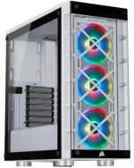 Caixa ATX Corsair iCUE 465X RGB Branco Vidro Temperado