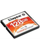 Cartão Kingston Canvas Focus CompactFlash UDMA7 VPG-65 128GB