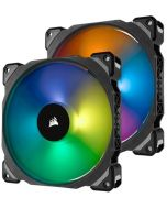 Ventoinha Corsair ML140 Pro RGB Magnetic PWM 140mm (Pack 2)