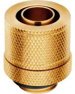 Conectores Corsair Hydro X Series XF Compression G1/4 Macho / Femea 13/10mm Pack 4 - Dourado