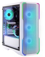 Caixa E-ATX BitFenix Enso Mesh TG 4ARGB Branco Vidro Temperado