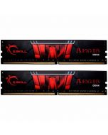 G.Skill Kit 8GB (2 x 4GB) DDR4 2400MHz Aegis CL15