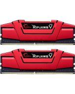 G.Skill Kit 16GB (2 x 8GB) DDR4 2666MHz Ripjaws V Red CL15