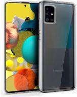 Capa Silicone para Galaxy M21 Transparente