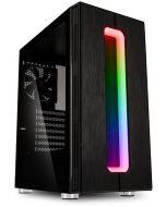 Caixa ATX Kolink Nimbus RGB Preto Vidro Temperado