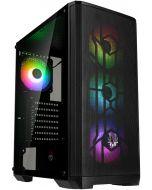 Caixa ATX BitFenix Nova Mesh TG SE A-RGB, Vidro Temperado - Preto