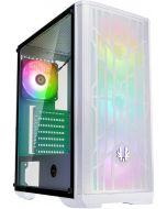 Caixa ATX BitFenix Nova Mesh TG SE A-RGB, Vidro Temperado - Branco/Branco
